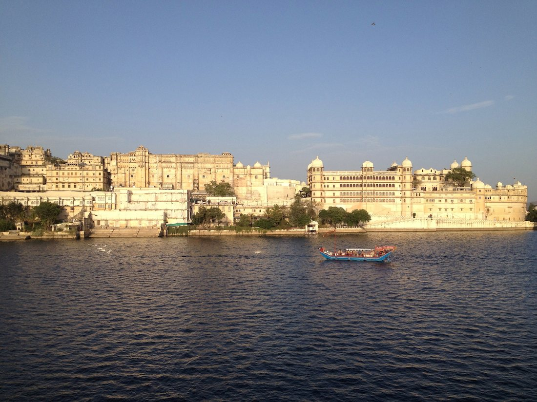 City Palace Udaipur lake view